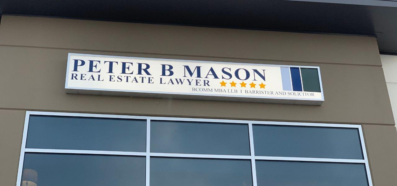 Peter B Mason Exterior